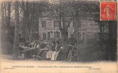 Gournay Sur Marne Vue D'Ensemble D'Un Restaurant Des Bords De La Marne - Gournay-sur-Marne