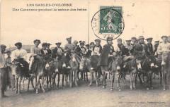 Les Sables D'Olonne Une Caravane Pendant La Saison Des Bains - Les Sables-d'Olonne
