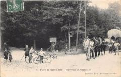 Foret De L'Isle Adam Carrefour De Cassan (Attelage - L'Isle-Adam