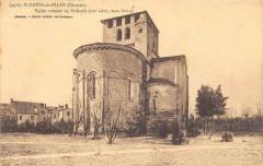 Saint Denis De Pile Eglise Romane (cliché pas courant - Saint-Denis-de-Pile