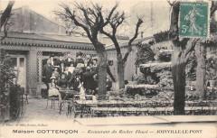 Joinville Le Pont Maison Cottencon Restaurant Du Rocher Fleuri - Joinville-le-Pont