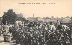 Champagne Briere Et De Labaume Reims La Vendange  (scan recto verso - Reims