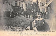Reims Entree Des Allemands A Reims Arriere Garde Rue De Barbatre (cliché - Reims