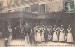Gournay Sur Marne Souvenir Du Banquet De La Saint Cochon (Cpa Rare - Gournay-sur-Marne