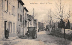 Serres Entree Du Village (Automobile Animation - Serres