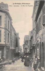 Lannion La Rue Des Chapeliers - Lannion