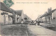 Environs De Nogent Sur Seine Beaulieu Rue Principale (cliché pas courant - Nogent-sur-Seine