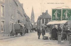 Trevieres Rue De L'Eglise - Trévières