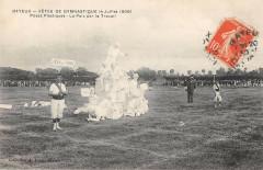 Bayeux Fetes De Gymnastique 1909 Poses Plastiques La Paix Par Le Travail - Bayeux