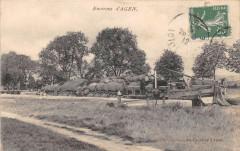 Environs D'Agen ( Peniche Sur La Garonne A Situer - Agen