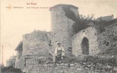 Puycelsi Les Vieilles Tours Et Remparts - Puycelsi
