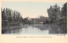 Env.de Meaux Pointe De L'Ile Du Poulin Pommier - Meaux