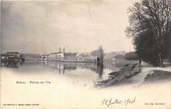 Melun Pointe De L'Ile Barbe - Melun