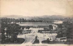 Pau La Gare Et Le Funiculaire - Pau