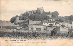 Langoiran Ruines Ancien Chateau (dos non divisé) - Langoiran