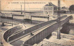 Saint Nazaire Le Pont Tournant De La Nouvelle Entree Du Port - Saint-Nazaire