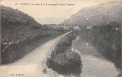Lodeve La Vallee De La Lergue Apres L'Usine Teisserenc - Lodève