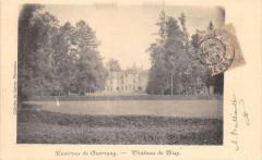 Environs De Guerigny Chateau De Bizy  (dos non divisé) - Guérigny
