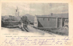 Aubagne La Chapelle Des Penitents Blancs Et Presbytere (dos non divisé) - Aubagne