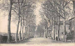 Mirepoix Cours De La Gendarmerie - Mirepoix