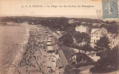 Fouras La Plage Vue Des Jardins Du Semaphore - Fouras
