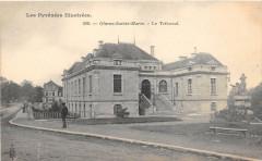 Oloron Sainte Marie Le Tribunal  (dos non divisé) - Oloron-Sainte-Marie