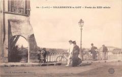 Villeneuve Sur Lot Porte Du XIIe Siecle - Villeneuve-sur-Lot
