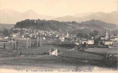 Saint Jean Pied De Port Vue Generale Entree Par Uhart Cize - Saint-Jean-Pied-de-Port