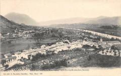 Vallee De L'Isere Et Le Mont Blanc Vue Du Fort De Montmelian (dos non div - Montmélian