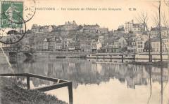Pontoise Vue Generale Du Chateau Et Des Remparts - Pontoise