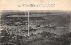 Collioure Vue Generale Caves Vve J.banyuls - Collioure