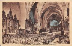 Saint Cyprien Interieur Eglise - Saint-Cyprien