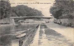 L'Isle Adam Le Pont Du Bras Navigable - L'Isle-Adam