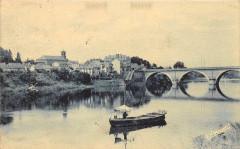 Bergerac Les Bords De La Dordogne Et Le Faubourg - Bergerac
