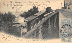 Langres  Cremaillere Sur Le Pont - Langres