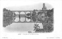 Albi Vue Prise Sur Les Bords Du Tarn (dos non divisé) - Albi