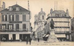 Langres La Place Diderot - Langres