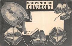 Chaumont Cpa Illustree Souvenir De Chaumont - Chaumont