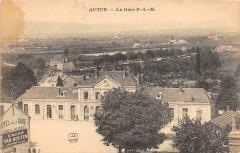 Autun La Gare P.L.M. - Autun