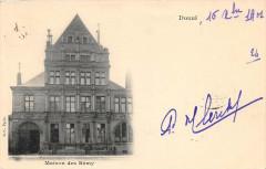 Douai  Maison Des Remy (dos non divisé) - Douai