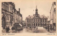 Chaumont L'Hotel De Ville (animée - Chaumont