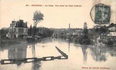 Poitiers Le Clain Vue Prise Du Pont Joubert - Poitiers