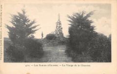 Les Sables D'Olonne La Vierge De La Chaume  (dos non divisé) - Les Sables-d'Olonne