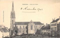 Landivisiau Sortie De La Messe (animée - Landivisiau