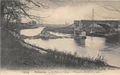 Soissons Le Pont Sur L'aisne A Villeneuve - Soissons