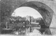 Parthenay Le Thouet Sous Le Pont Neuf - Parthenay