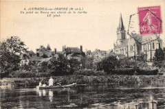 Juvardeil Sur Sarthe Un Point Du Bourg - Juvardeil