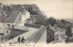 Langres Vue Sur Les Remparts - Langres