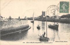 Les Sables D'Olonnes Entree Du Port - Les Sables-d'Olonne