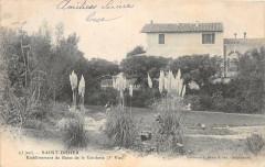 Saint Didier Etablissement De Bains De La Gardette (dos non divisé) - Saint-Didier